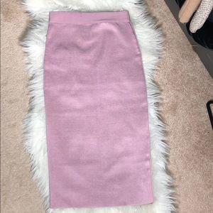 Purple Bandage Skirt HotmiamiStyles